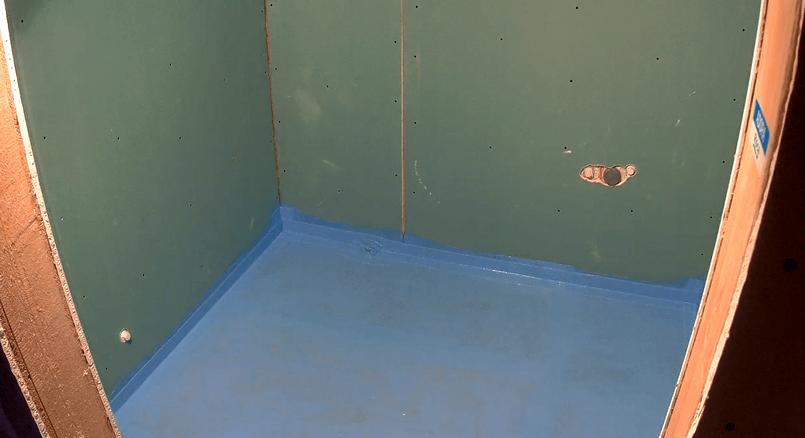 гидроизоляция в ванной под плитку