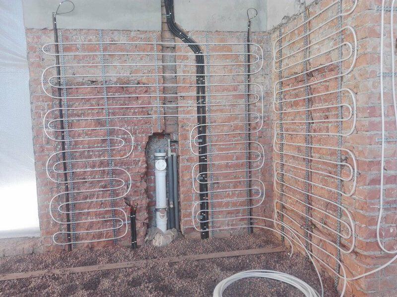 теплые стены в частном доме