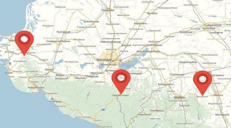 Примеры бурения скважин в Краснодарском крае