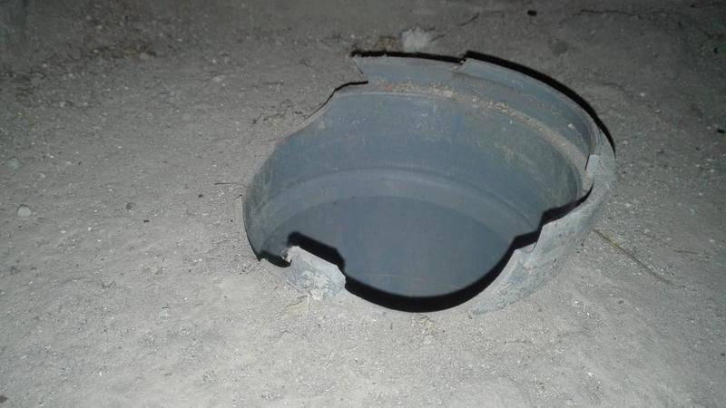 когда нет футляра канализационной трубы