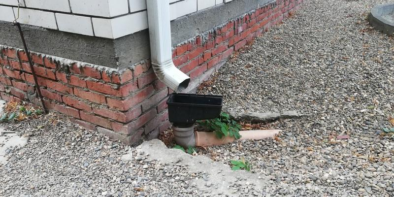 угол наклона ливневой канализации